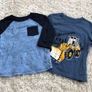 Toddler boy long sleeve shirt bundle